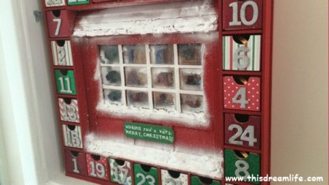 The making of an advent calendar