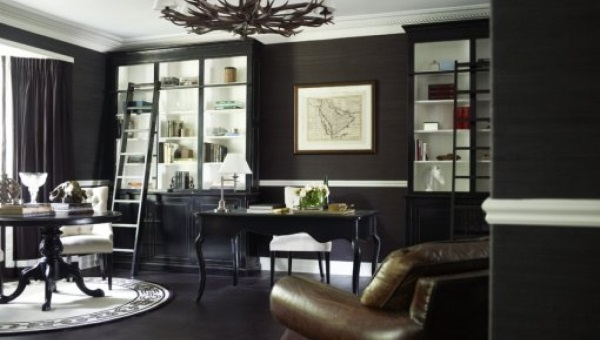 Adding Luxe With Grasscloth Wallpaper This Dream Life
